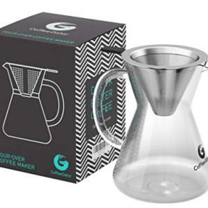 Pour Over Coffee Maker Set | 3-Cups (14oz/400ml)