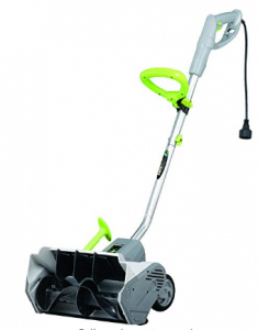 Earthwise SN70014 14-Inch 12-Amp Electric Power Snow Shovel- Electric Snow Shovel with Wheels