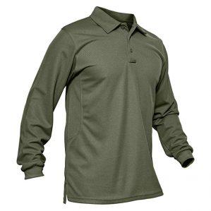 MAGCOMSEN Long Sleeve Golf Shirts