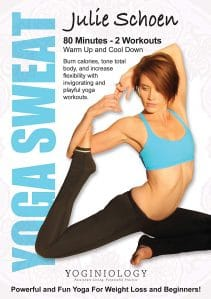 Yoga Sweat Yoga DVD for Weight Loss with Julie Schoen