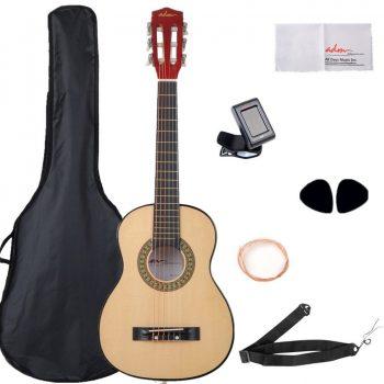 0.ADM 30 Inch Beginner Acoustic/Classical Guitar,Acoustic Guitar for Kids