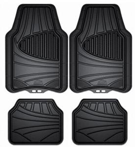 Armor All 78840ZN 4-Piece Black All Season Rubber Floor Mat