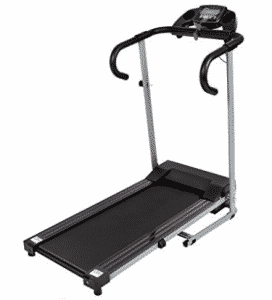 Best Choice Products Black 500W Portable Folding Electric Motorized Treadmill Running Machine