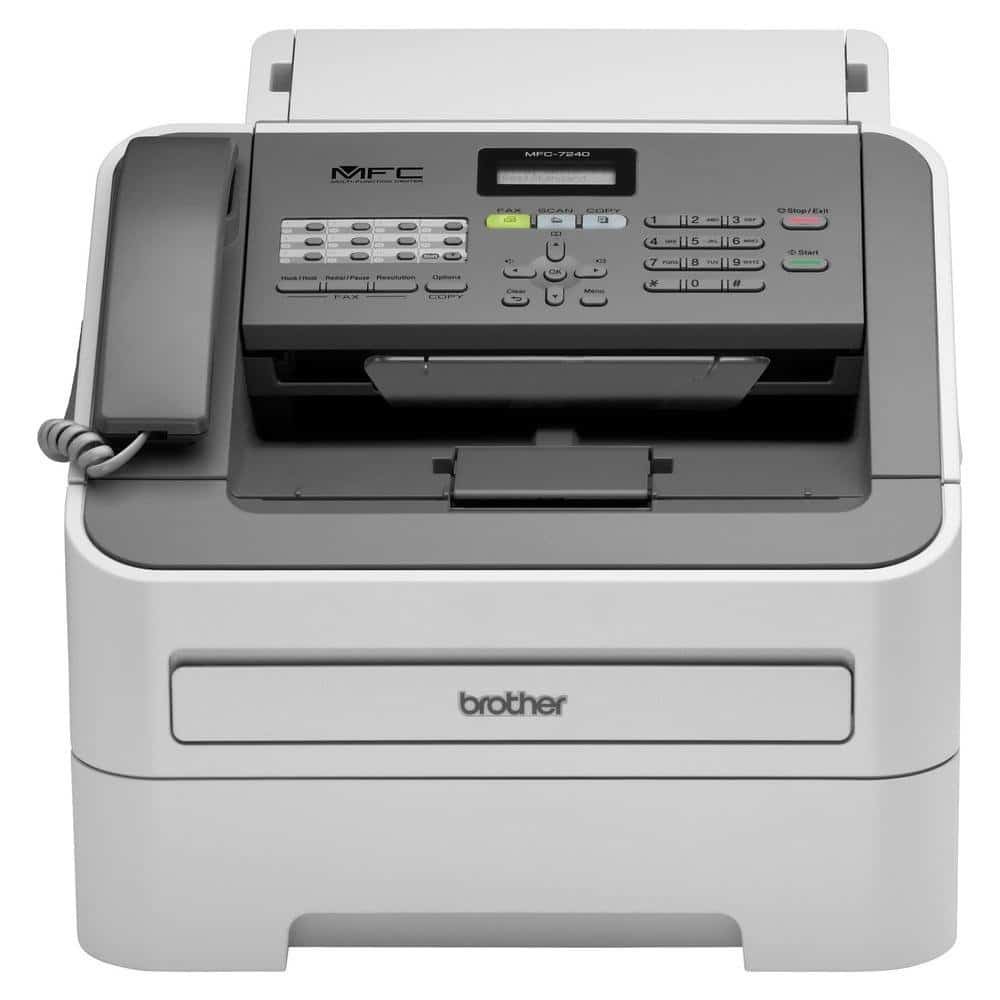 Brother Printer MFC7240 Monochrome Printer with Scanner