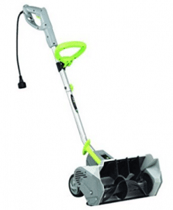 Earthwise 12 AMP Electric Snow Thrower Power Shovel with Wheels Snow Blower SN70014 RFB Snow - Electric Snow Shovel with Wheels