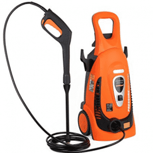 Ivation Electric Pressure Washer 2200 PSI 1.8 GPM with Power Hose Nozzle Gun and Turbo Wand, Electric Pressure Washers
