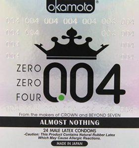 Okamoto 0.04mm Zero Four condoms 24 pack