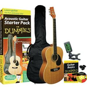 Guitar For Dummies Acoustic Guitar Starter Pack (Guitar, Acoustic Guitar for Kids