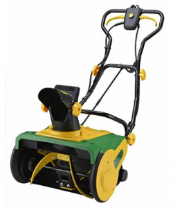 """Homegear 20"""" Professional 13 Amp Corded Electric Snow Thrower- Electric Snow Shovel with Wheels"""