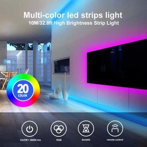 1. DAYBETTER 32.8ft Led Strip Lights with 44 Keys