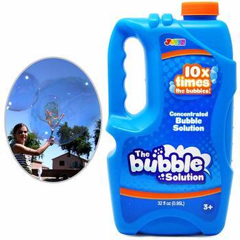 12. Joyin Toy Bubble Solution Refill (up to 2.5 Gallon)