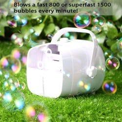 Portable Bubble Machine