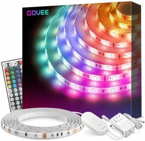 8. Govee 16.4Ft RGB Light Strip Kits (Waterproof)