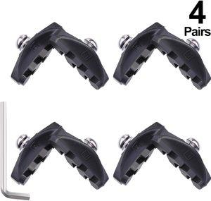 8. Road Brake Pads with Installation Tool Caliper Brake Blocks 50 mm