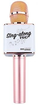 Sing-along PRO Bluetooth Karaoke Microphone and Bluetooth Stereo Speaker