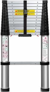 12. OxGord Aluminum Telescopic Ladder