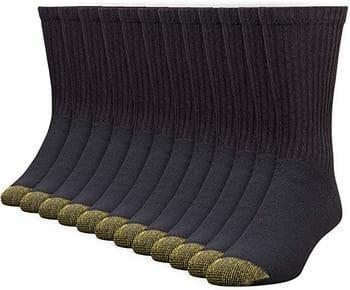 4. Men's Cotton Crew 656 Athletic Sock