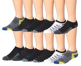 Men's 12-Pairs Low Cut Athletic Sports Socks