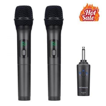 Kithouse Wireless Microphone Karaoke Bluetooth Microphone